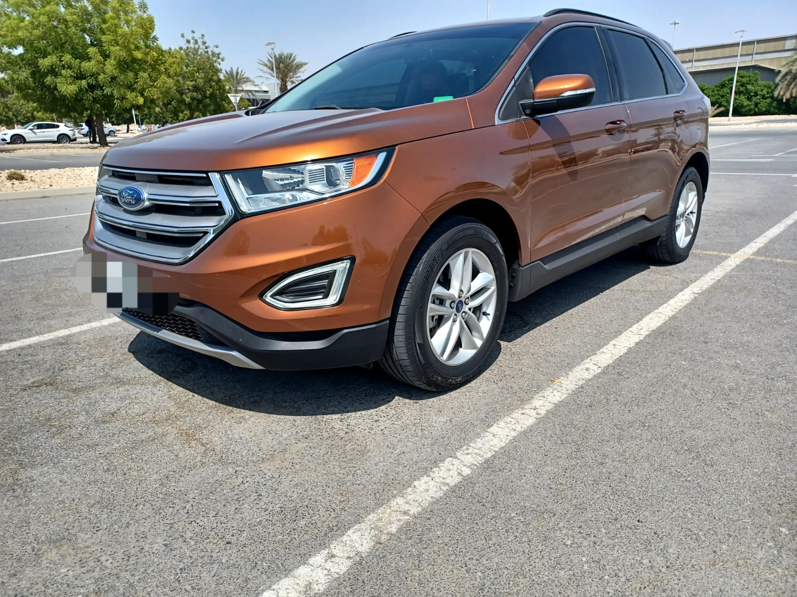 Used Ford Edge 2.0T SEL AWD 2017 For Sale In Dubai