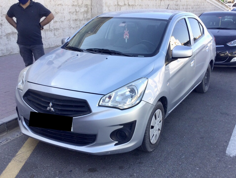 Used Mitsubishi Attrage 2014 For Sale In Dubai