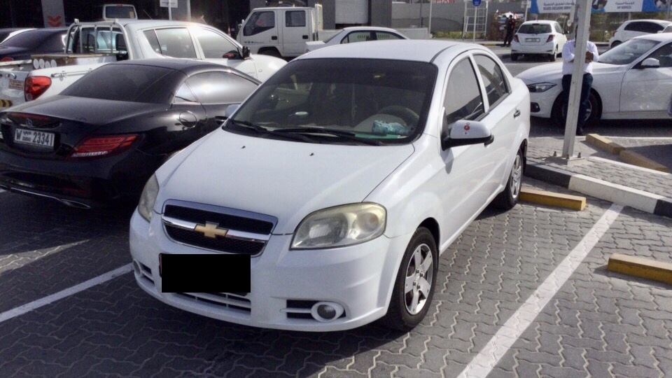 Used Chevrolet Aveo 2014 For Sale In Dubai