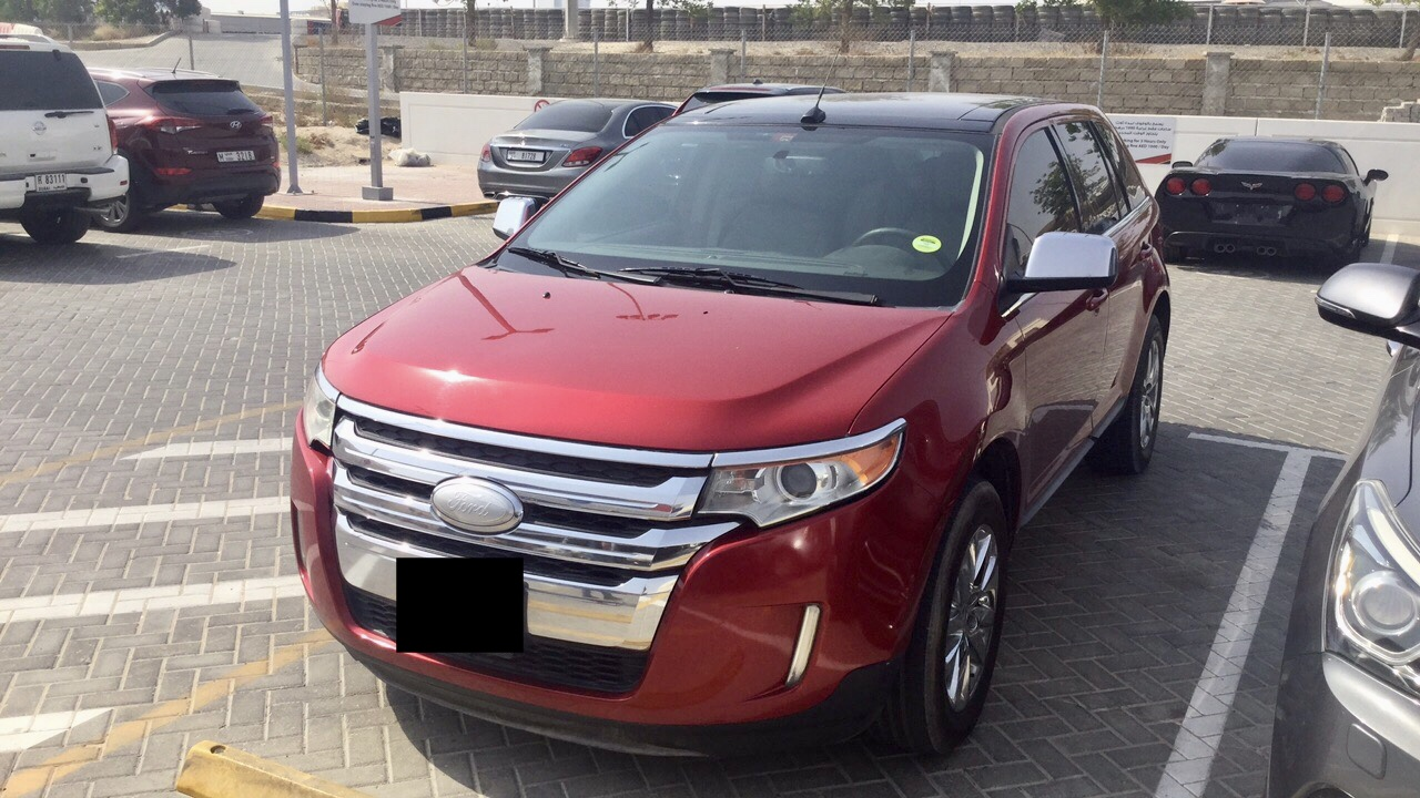 Used Ford Edge 3.5L Limited 2012 For Sale In Dubai