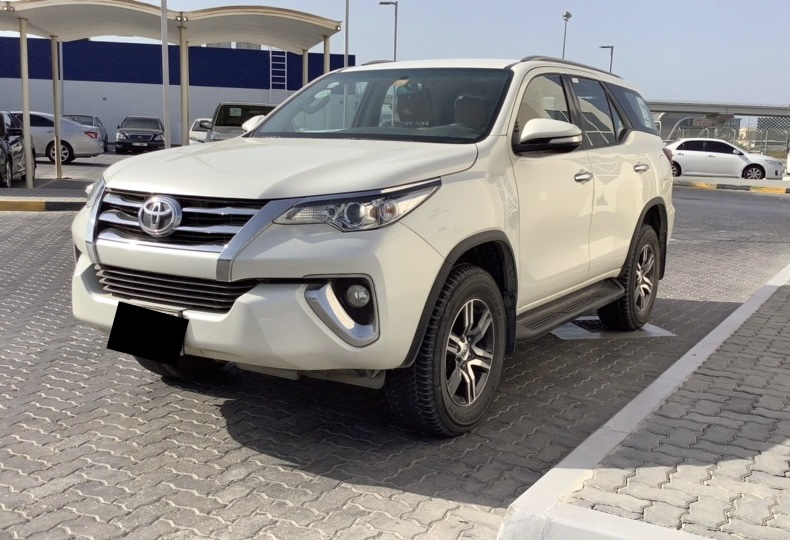 Used Toyota Fortuner 2.7L 2017 For Sale In Dubai