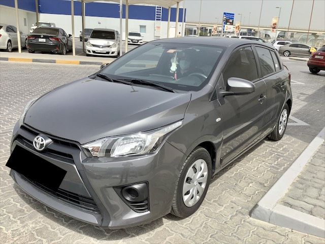 Used Toyota Yaris Hatchback 1.3L S 2015 For Sale In Dubai