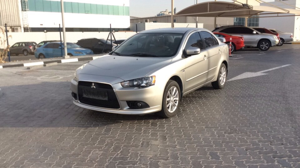 Used Mitsubishi Lancer EX 2.0L 2015 For Sale In Dubai