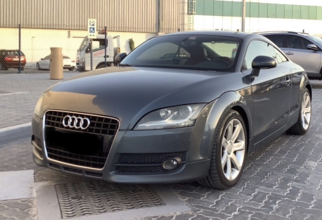 Used Audi TT 3.2 Coupe 2009 For Sale In Dubai