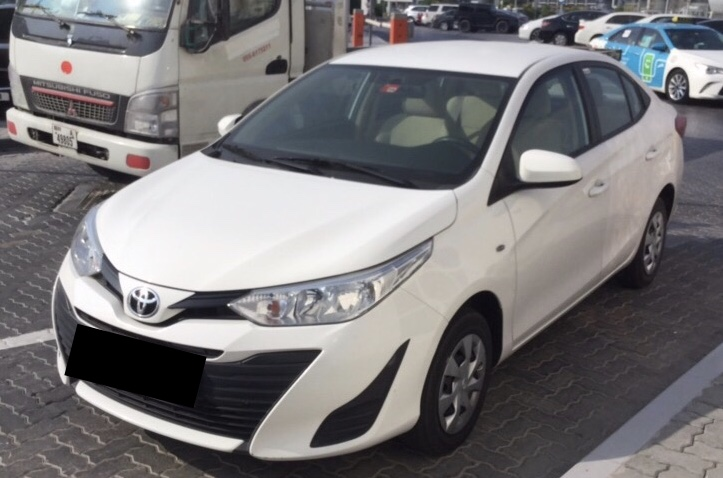 Used Toyota Yaris SE 2019 For Sale In Dubai