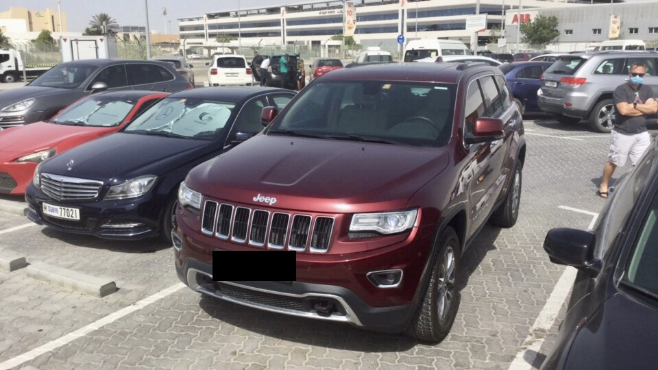 Used Jeep Grand Cherokee 3.6L Limited 2016 For Sale In Dubai