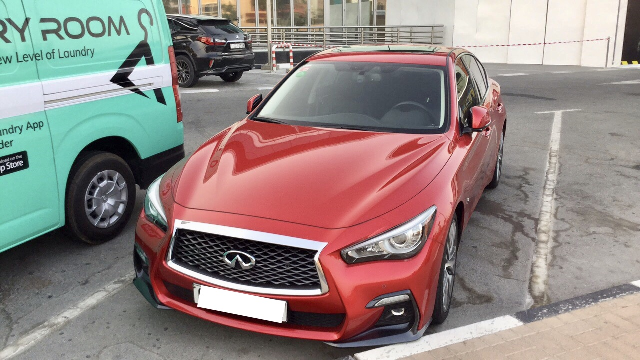 Used Infiniti Q50 3.0T 2018 For Sale In Dubai