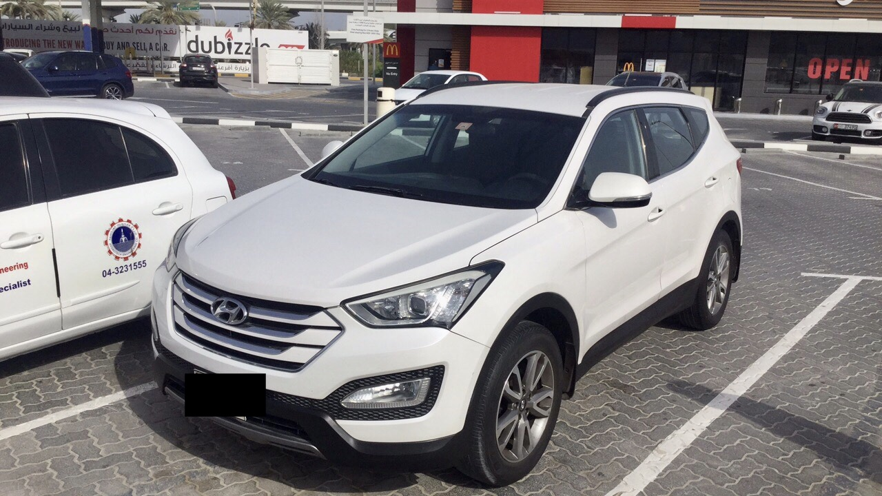 Used Hyundai Santafe 2.4L 2WD 2015 For Sale In Dubai