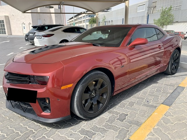 Used Chevrolet Camaro SS Coupe 2014 For Sale In Dubai