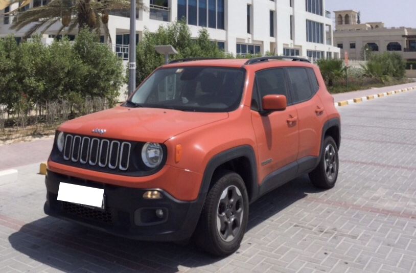 Used Jeep Renegade Latitude 4x4 2016 For Sale In Dubai