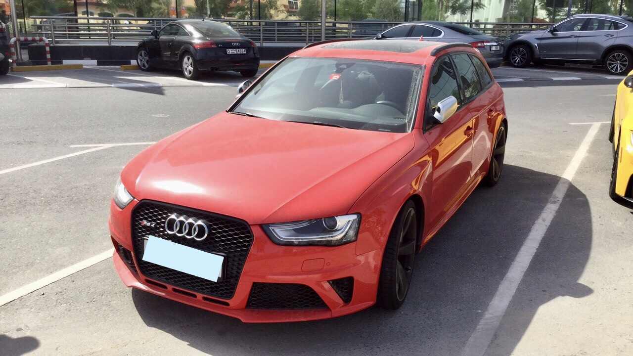 Used Audi RS4 2014 For Sale In Dubai