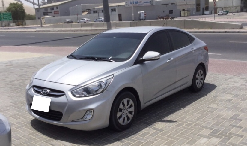 Used Hyundai Accent (1.6L) 2017 For Sale In Dubai