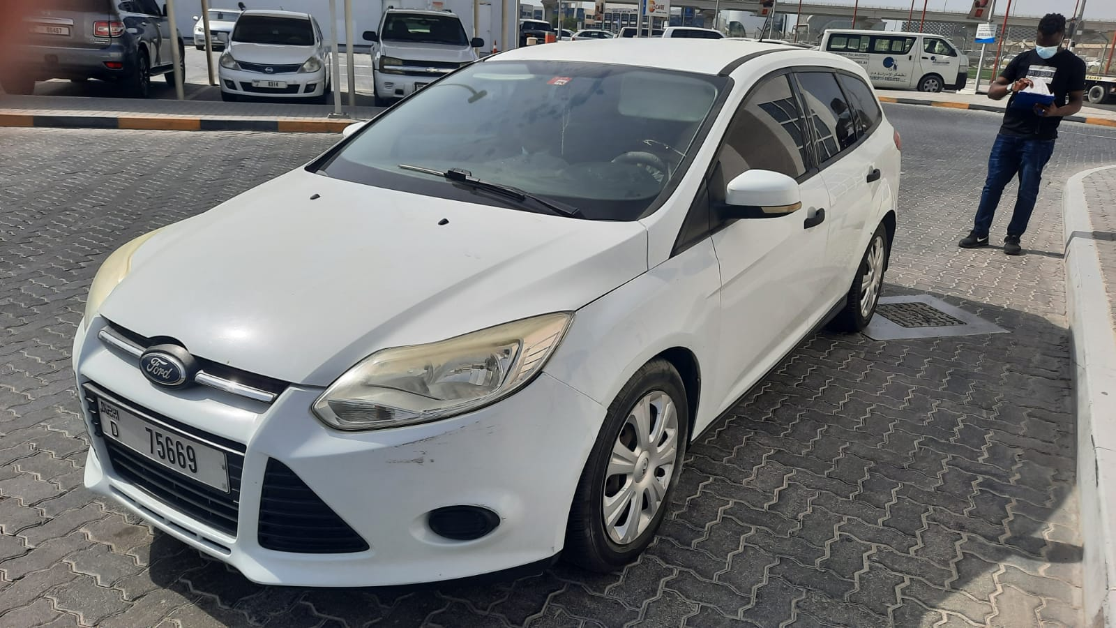 Used Ford Focus 1.6L 2012 For Sale In Dubai
