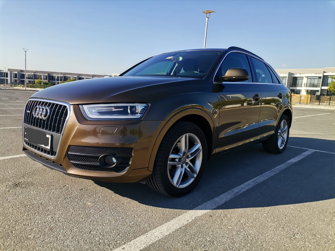 Used Audi Q3 2.0 TFSI 180 2015 For Sale In Dubai