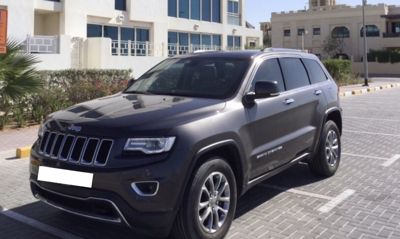Used Jeep Grand Cherokee 3.6L Limited 2014 For Sale In Dubai